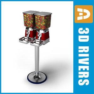 3ds max gumball machine