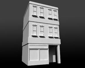 maya building house