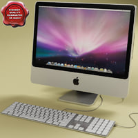 apple imac 20 3d lwo
