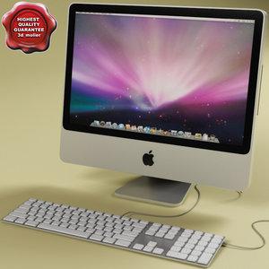 apple imac 20 3d lwo
