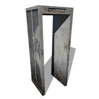 3d model metal detector