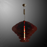 Rondelle suspended lamp