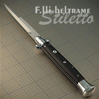 3d frank classic italian stiletto