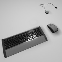 Wireless Keyboard Set