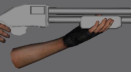 free winchester 12 shotgun 1785 3d model