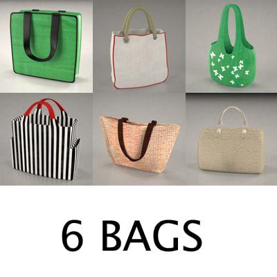 bag accessories 3d 3ds