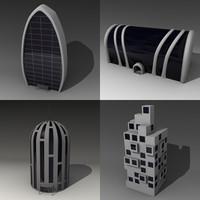 maya futuristic houses