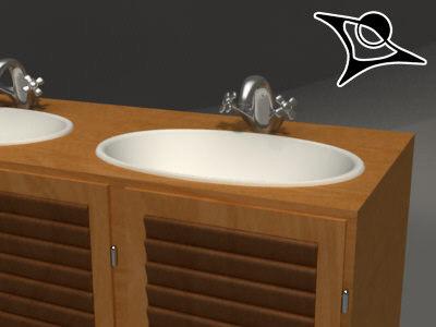3d rendered model