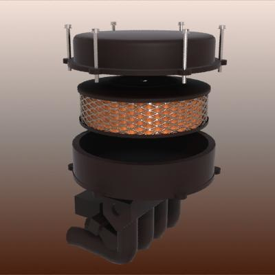 car air filter 3d 3ds
