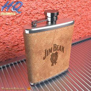 hip flask 14 3d max