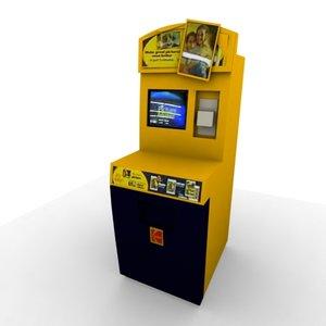 max digital printing kiosk