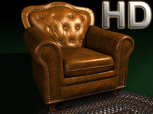 3d leather model