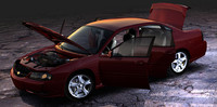 3dsmax chevrolet impala ls