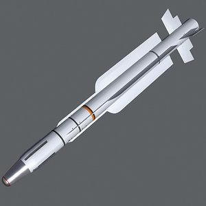 mica ir missile 3d model