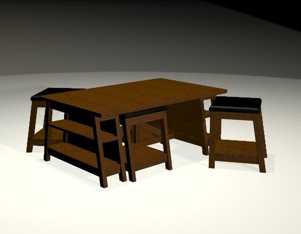 table nest 3d model