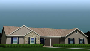 3d fully house