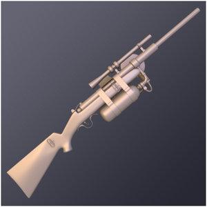 air crank rifle 3ds