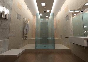 bathroom wc 3d 3ds