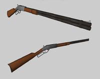 c4d winchester rifle