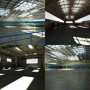 warehouse set hangar max