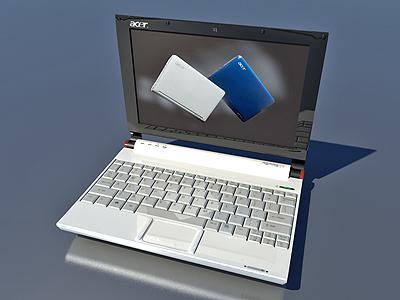 acer aspire 3d model