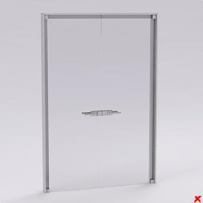 free 3ds model door office