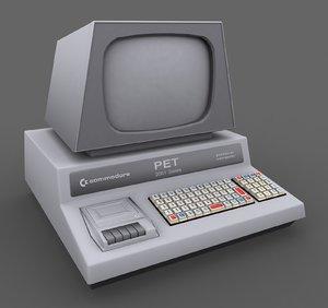 3ds max commodore pet computer max8