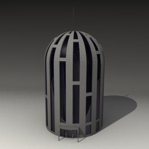 futuristic house 3d 3ds