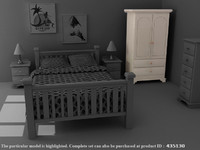 Harvest Almirah - High Quality Furniture 3d model