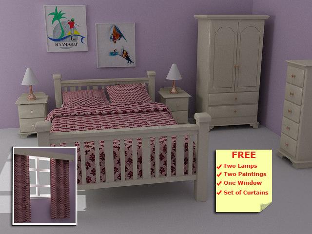 harvest bedroom pinewood furniture max