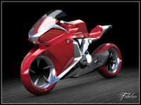 concept bike honda v4 max