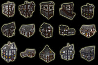 Model Pack 1 Medieval City House.zip