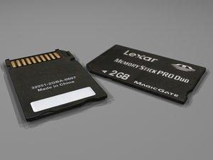 3dsmax sd memory card
