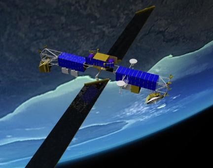 milstar communications satellite 3ds