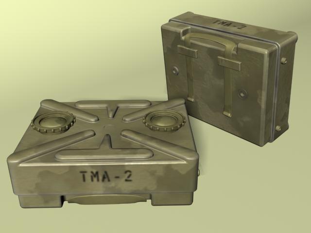 tma-2 anti-tank 3d model