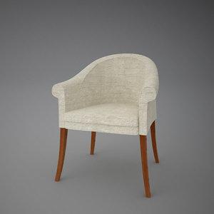 3dsmax sinan chair armchair
