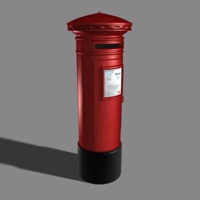 3dsmax postbox post box