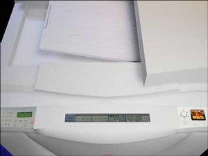 copier 3d model