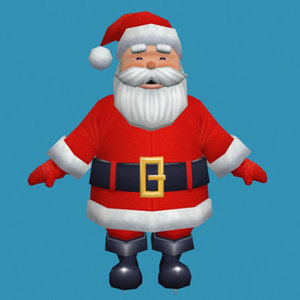 3ds santa clause
