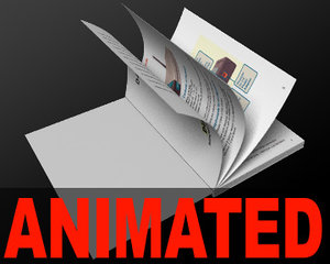 lightwave book animation pages curl