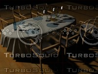 3d table nappe verres