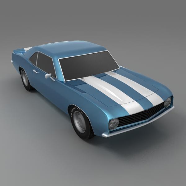 camaro 3d model