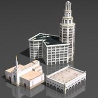 building houses 3d model