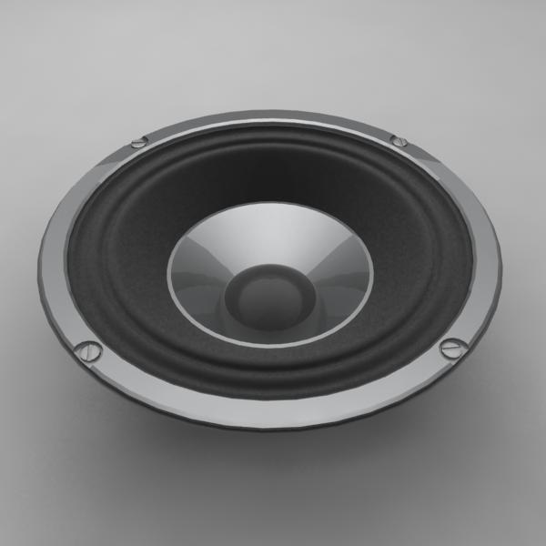3ds speaker woofer