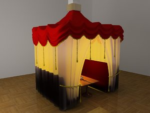 narghile sofa 3d model