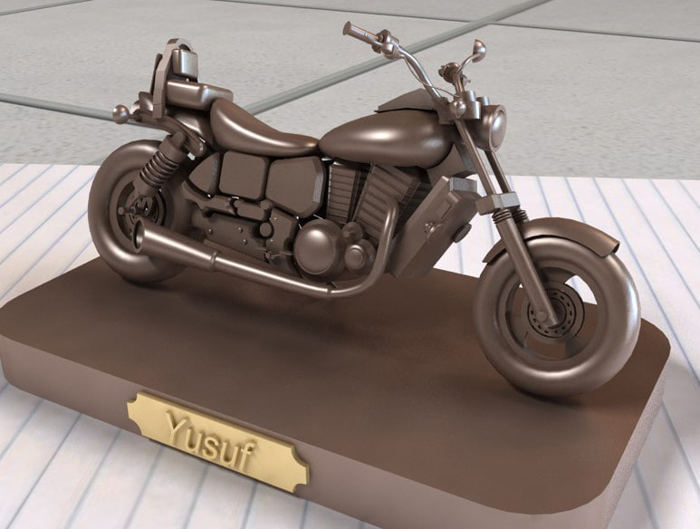 3ds max paper weight