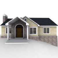 fully house 3d model