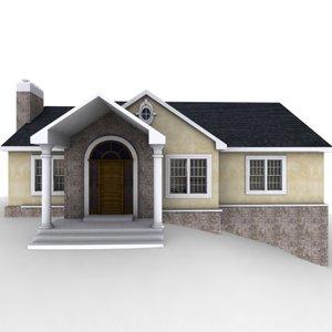 fully house 3d model