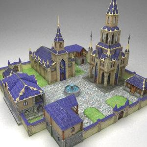 3dsmax fantasy city