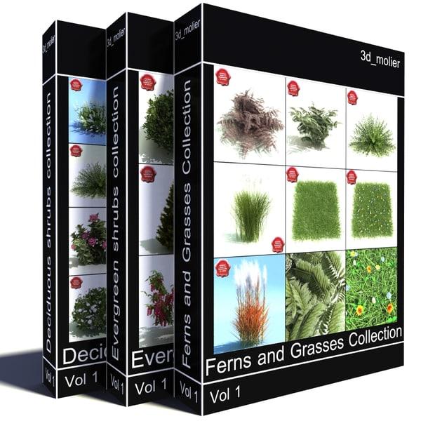 obj shrubs vol5 collections